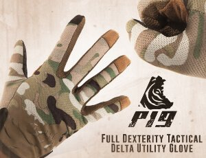 PIG - Full dexterity tactical delta utility glove