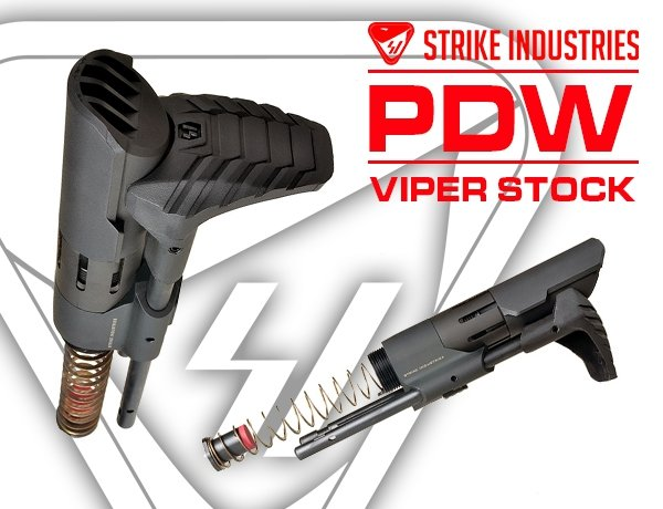 Strike Viper Stock PDW
