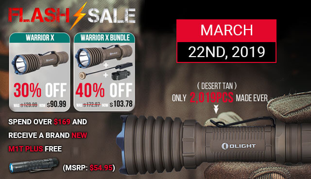 Olight Flash Sale small banner