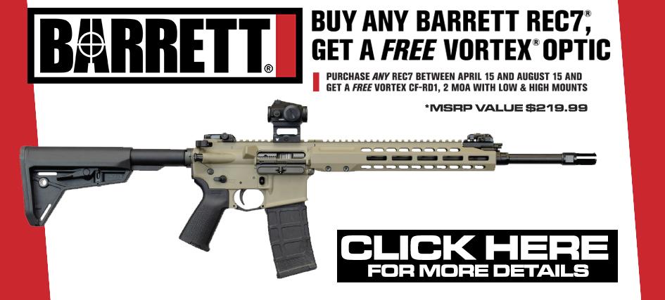 Barrett Rec7 Vortex Promo