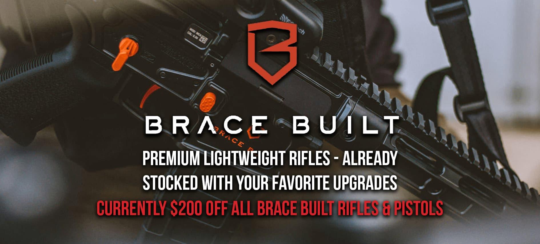Brace Built Sale