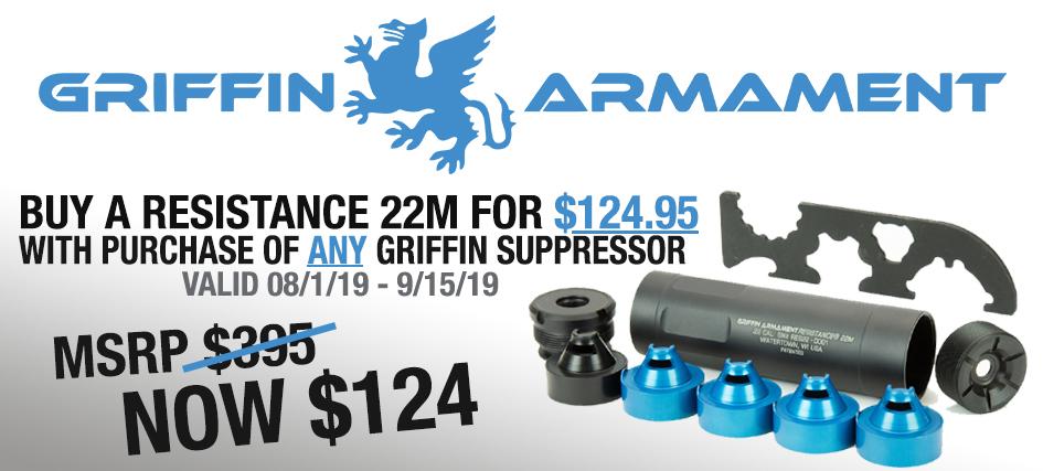 Griffin Suppressor Deal