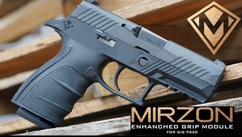 Sig Sauer P320 Grip Module from Mirzon