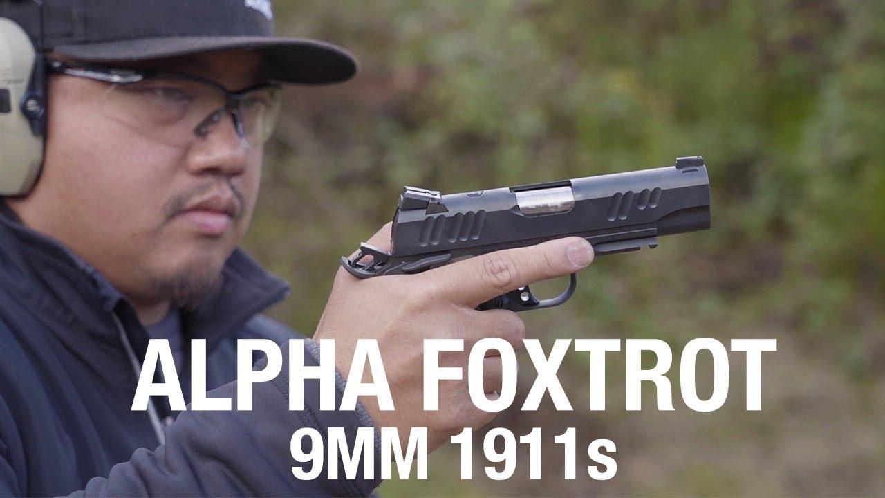 Alpha Foxtrot 1911s