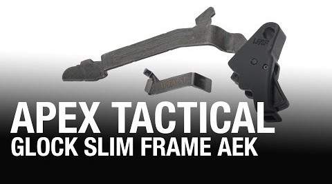 APEX TACTICAL ACTION ENHANCEMENT TRIGGER KIT FOR GLOCK 43/43X/48 (PRE-ORDER)
