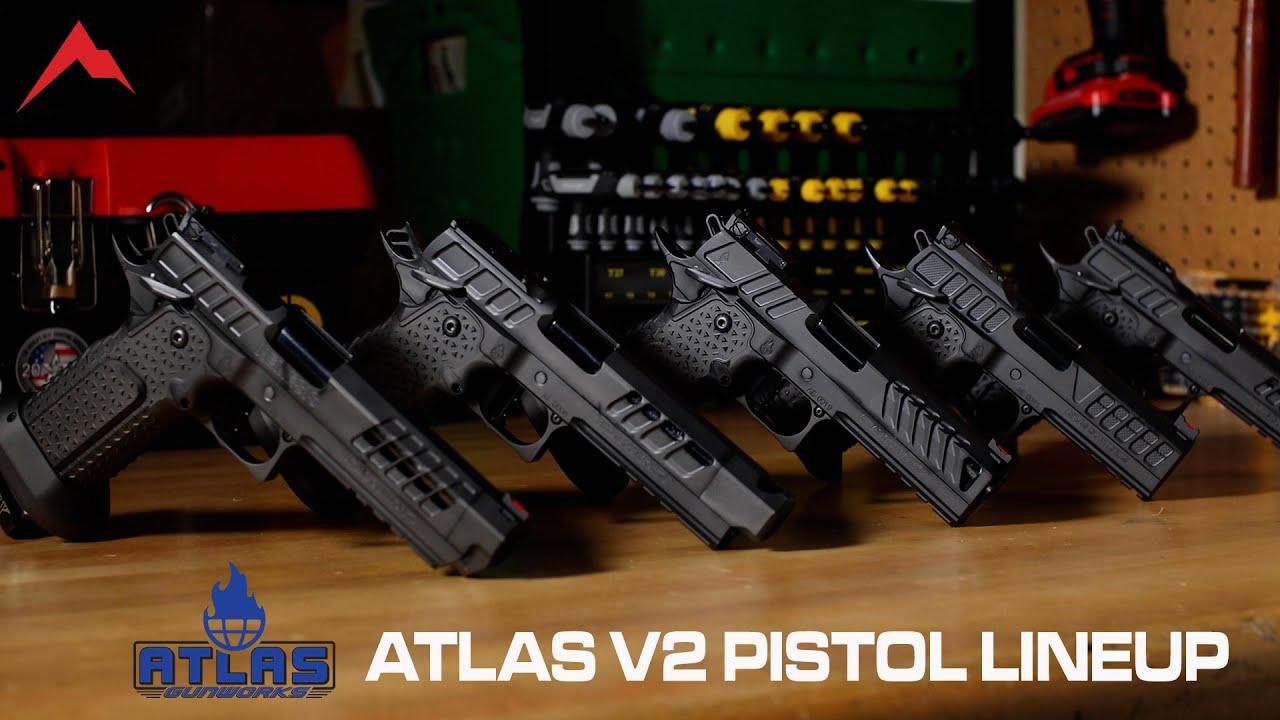 Atlas Gunworks V2 Pistols