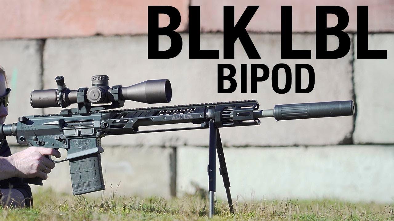 BLK LBL Bipod
