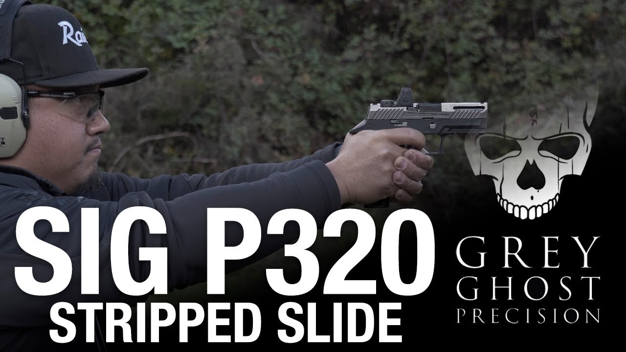 The Grey Ghost P320 Slide