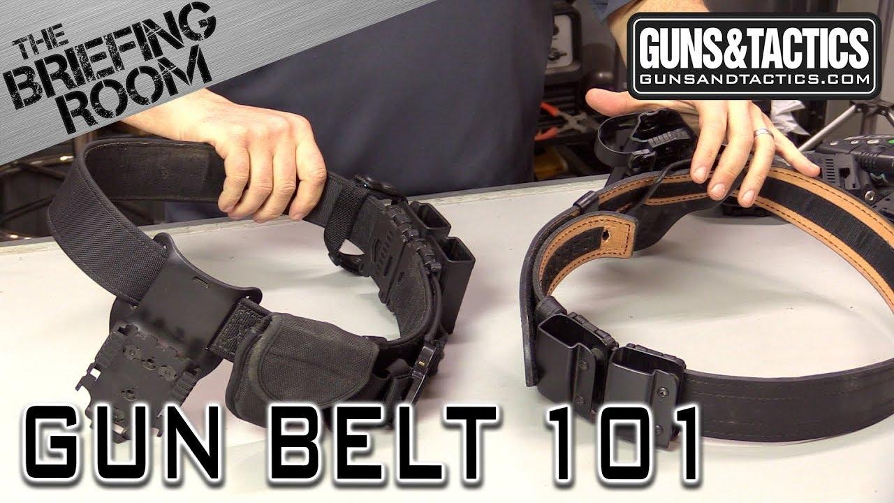 Gun Belt Set Up, The Briefing Room