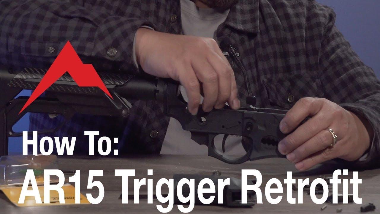 How To: AR15 Trigger Retrofit Installation video