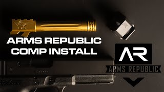 How to install a Compensator W Henry the Gunsmith