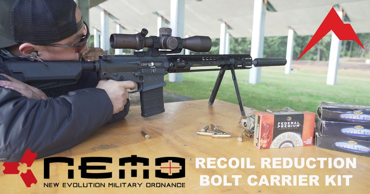 Nemo Arms Recoil Reduction BCG