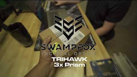 Swampfox TriHawk 3x Prism Optic