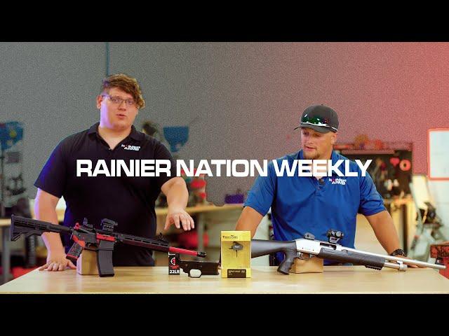 RAINIER NATION WEEKLY - Episode 003: Tippmann Arms, Timney Triggers, Citadel Shotgun