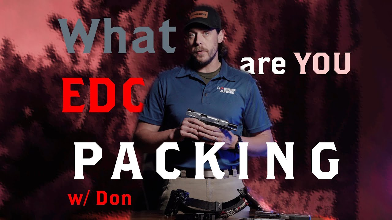 What EDC are you packing?! w/ Don