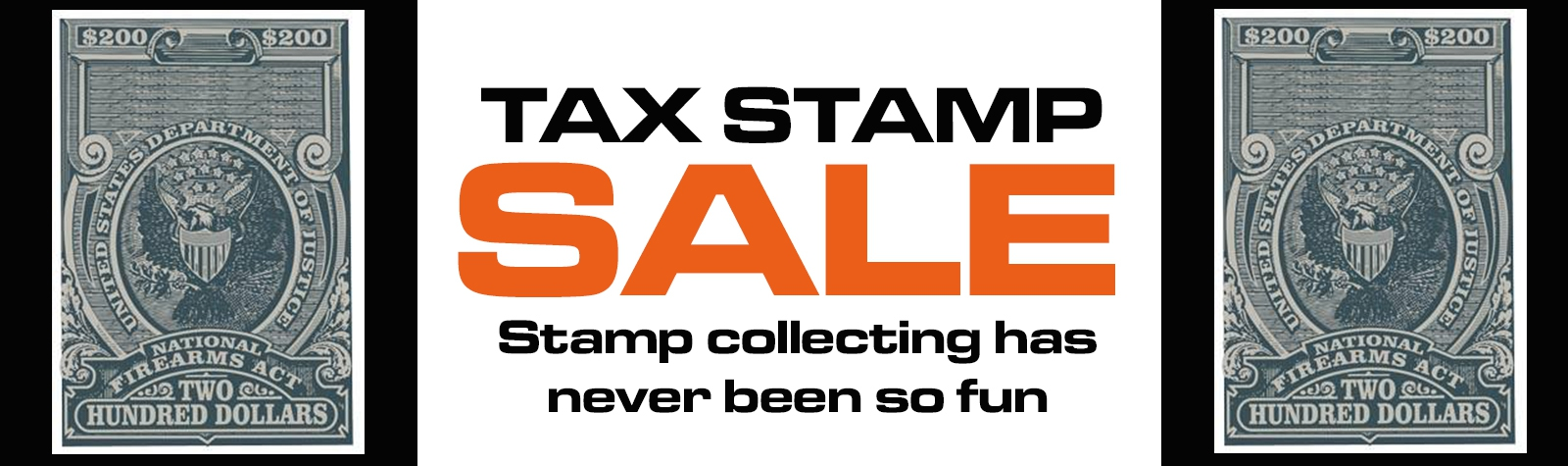Tax Stamp Sale