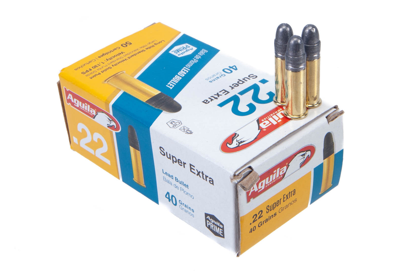 Aguila 22LR 40gr Solid Point Standard Velocity Ammunition - 50rd thumbnail
