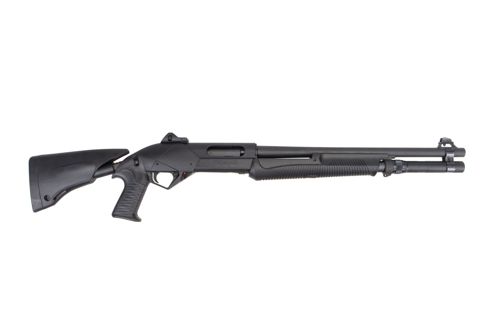 "Benelli SuperNova 12GA Pump-Action Tactical Shotgun w/Telescoping Stock - 18.5"" (LAW ENFORCEMENT ONLY) thumbnail"
