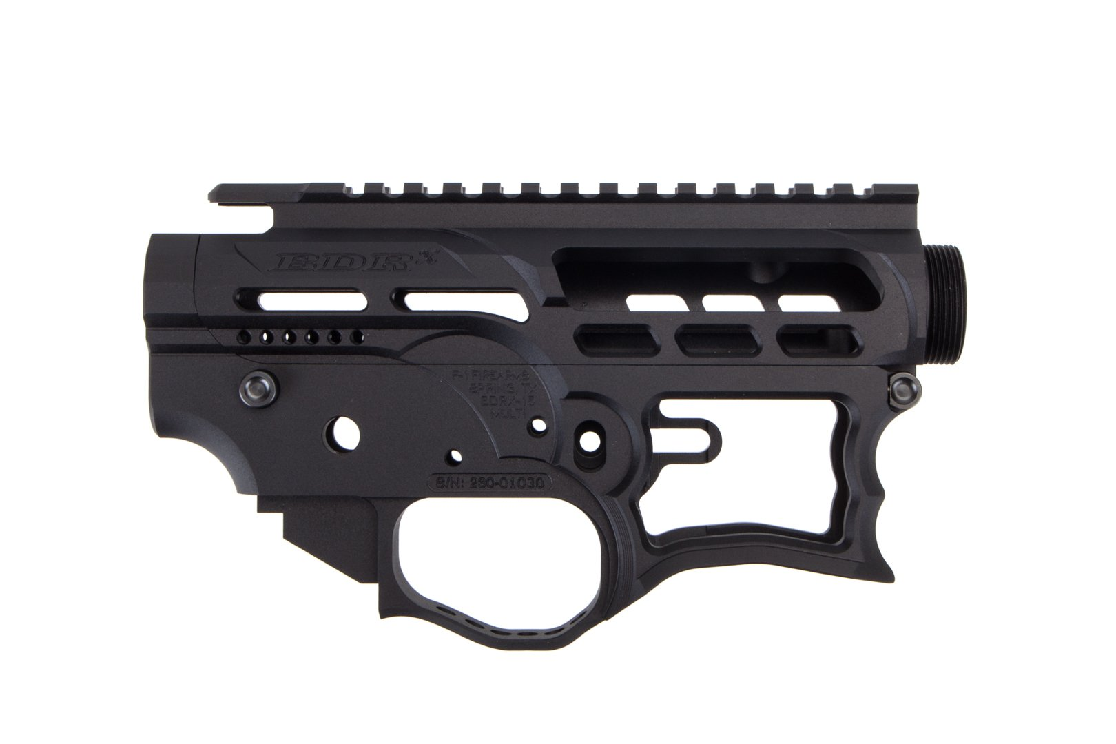 Trojan Firearms AR-15 BYOG-9G Stripped Receiver Set - 9mm