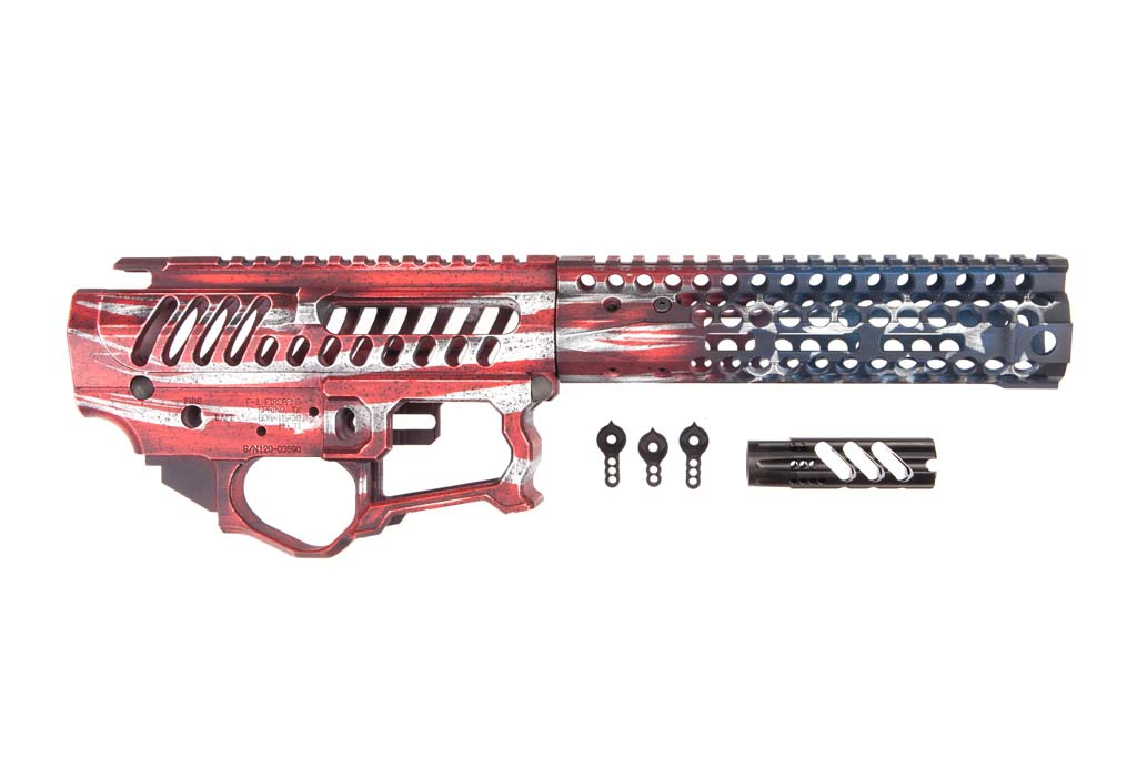 F-1 Firearms Old Glory AR-15 Chassis Set