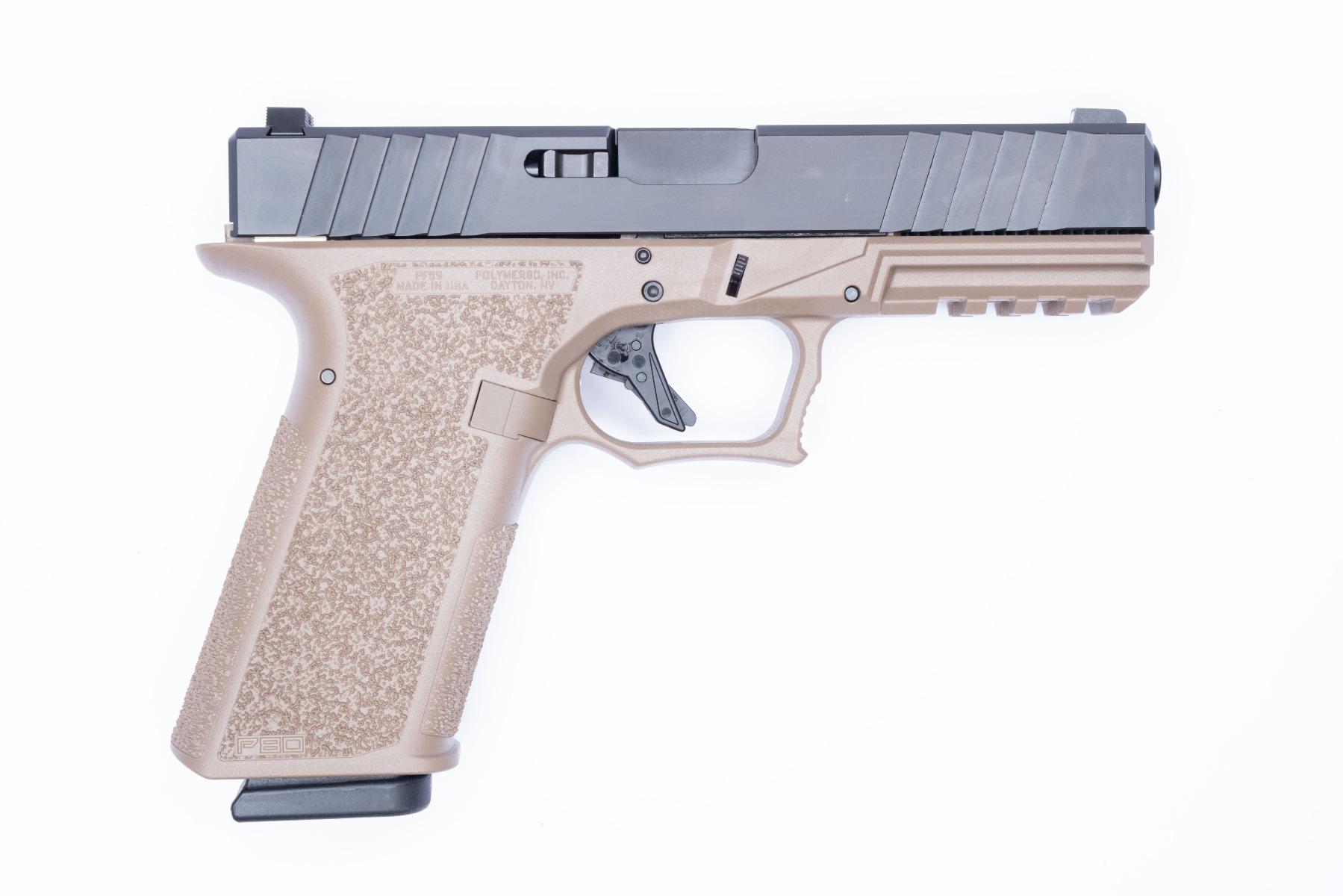 Polymer80 80% Glock 26/27 - PF940SC (Textured Grip) - Pistol