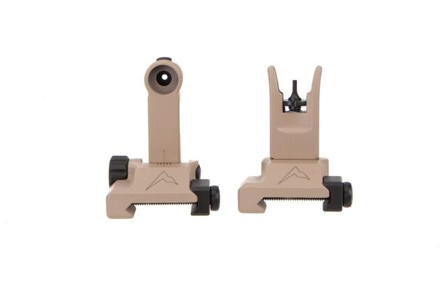 Rainier Arms Back Up Iron Sights