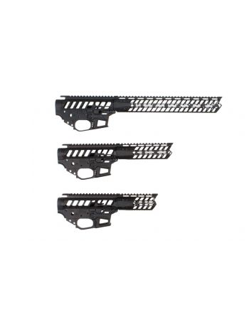 F-1 Firearms UDP 9MM AR-15 Receiver Set & P7M Handguard - Black