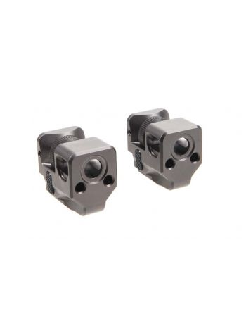 Killer Innovations Velocity Glock Compensator - Black Nickel Teflon