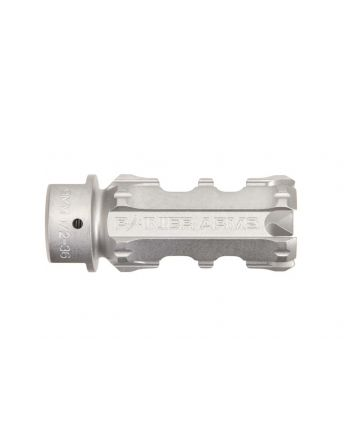 Rainier Arms XTC 9MM Muzzle Device - Stainless Steel 1/2-36