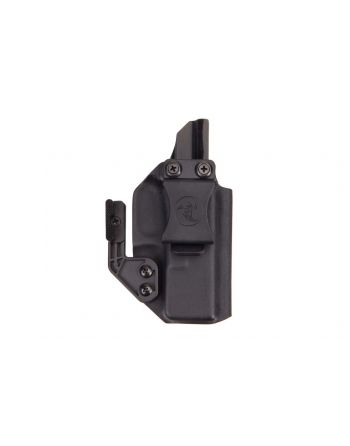 ANR Design Glock 19 RMR Appendix IWB RH Holster with Polymer Claw - Black