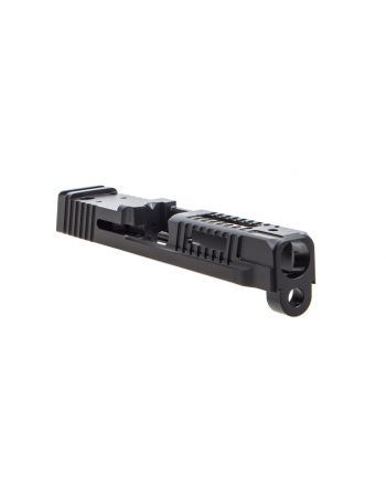 Faxon Firearms M&P Full Size Hellfire Stripped Slide w/ Optic Cut - DLC Black