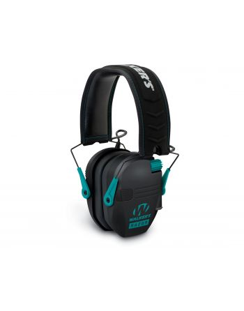 Walker's Razor Slim Low Profile Hearing Protection Teal