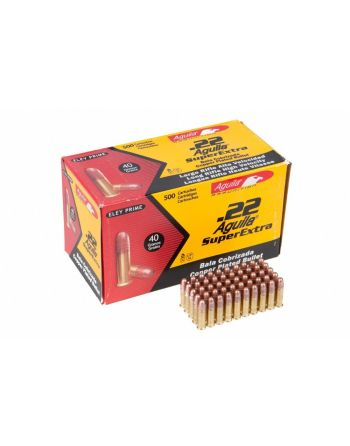 Aguila-Eley Prime - .22 Long Rifle  Super Extra 40 gr - 500 Rounds