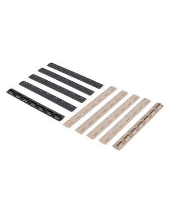 BCM­ KeyMod Rail Panel Kit, 5.5-inch 5 Pack