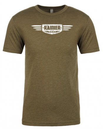 Rainier Arms Tactical Rifles T-Shirt Military Green