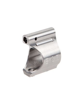 Battle Arms Development  Lightweight Low Profile Titanium Gas Block-Raw Titanium Finish