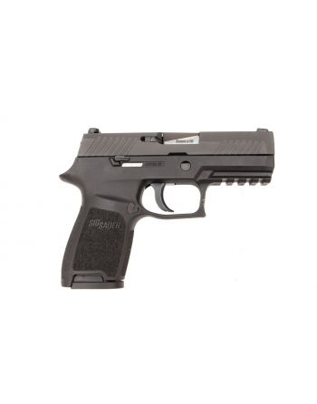 Sig Sauer P320 Compact 9mm 3.9in Black 15RD Pistol W/ Night Sights