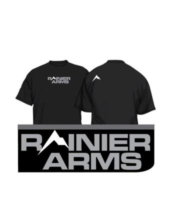 Rainier Arms Form Fitting T-Shirt - Black