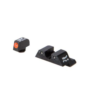 Trijicon GL101O Glock HD Night Sight Set - Orange Front Outline