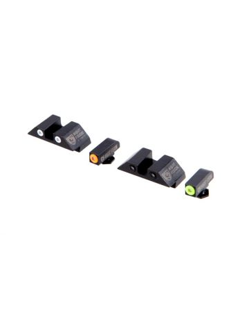 NIGHT FISION GLOCK TRITIUM SIGHT Set - Square Rear