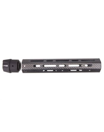 "Lancer AR-10 LCH7 Carbon Fiber 12"" Rifle 7.62 Handguard No Rails"