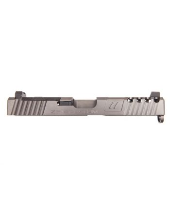 Zev Technologies Spartan Z17 Gen 3 Absolute Cowitness with RMR Cover Complete Slide-Gray