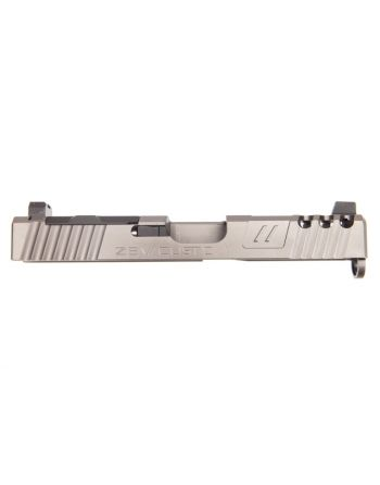 Zev Technologies Spartan Z19 Gen 3 Absolute Cowitness with RMR Cover Complete Slide-Gray