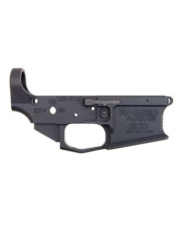 Rainier Arms Ultramatch Ambi Billet Lower Receiver MOD3 CA Compliant Lower with Battle Arms Development MRB w/o QD