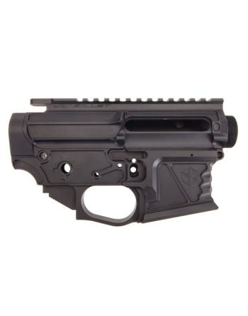 JL Billet Skeletor AR15 Light Weight Matched Set - Black