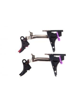 Zev Technolgies Fulcrum Adjustable Drop-In Kit Trigger 9mm Gen 4 - Curved