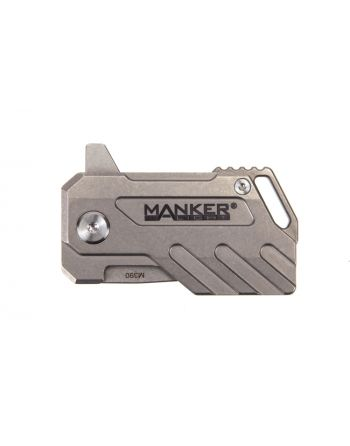 Manker Elfin Compact Titanium M390 Steel Folding Knife