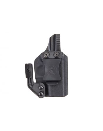 ANR Design Glock 43 Appendix IWB RH Holster with Polymer Claw - Black