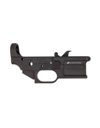 JP Enterprises 9mm billet lower receiver kit w/ mag catch, ejector, pin, spring and screws