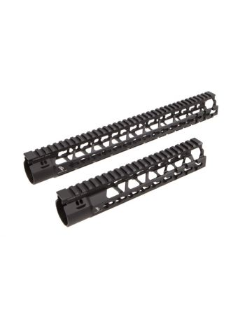 Bootleg AR-15 Handguard With KMR Mounting Hardware